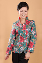 Mandarin Floral-painting Jacket (RM)