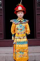 男童清朝皇帝朝服