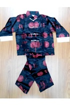 Bargain -Boy's Blessing Icons Mandarin Suit (Dark Blue)