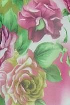 Fabric - See-through Floral Chiffon