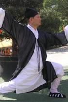 Wudang Taoist Gauze Manteau (mono-color) (CM)
