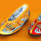 Girl's Sailing Boats Embroidery Shoes (Multicolor)