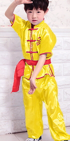 Kid's Short-sleeve Kung Fu Vest Suit (RM)