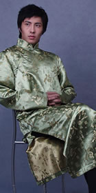 Mandarin Brocade Robe (CM)