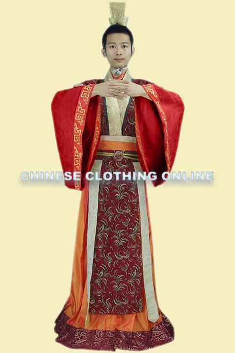 Han Scholar-bureaucrat Court Dress w/ Crown (RM)