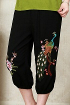 Peacock Embroidery Pants (RM)