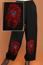 Chinese Opera Mask Embroidery Pants (RM)