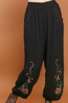 Floral Embroidery Pants (RM)