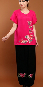 Mudan Peony Embroidery Suit (RM)