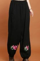 Mudan Peony Embroidery Pants (RM)