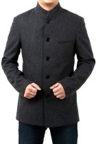Bargain - Modernised Mao Jacket in Heavy Wool fabric (RM)