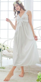 Silky Long Slip Dress Sleepwear (RM)