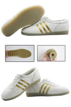 Professional Taichi Embossed Cowhide Sneakers