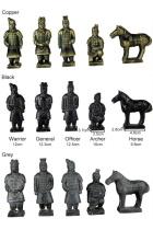 5-piece (16cm) Miniature Terracotta Army