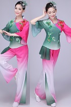 Chinese Ethnic Dancing Costume - Han Zu