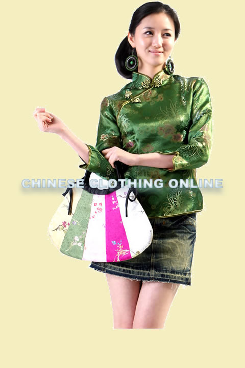 3/4-sleeve Mandarin Blouse (CM)
