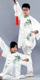 Bamboo Embroidery 3-piece Kung Fu / Taichi Suit (CM)