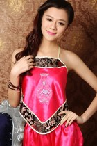 Silky Embroidery Halter Top (RM)
