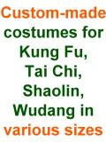 Custom-made Taichi|Kungfu|Shaolin|Wudang